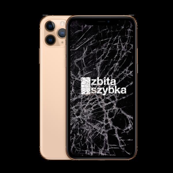 iphone  pro uszkodzony ekran
