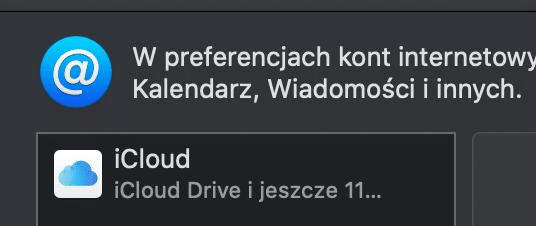konta internetowe macOS