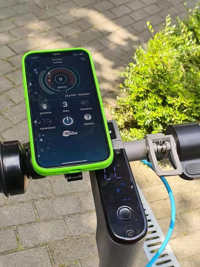 aplikacja my Scooty Motus 2021