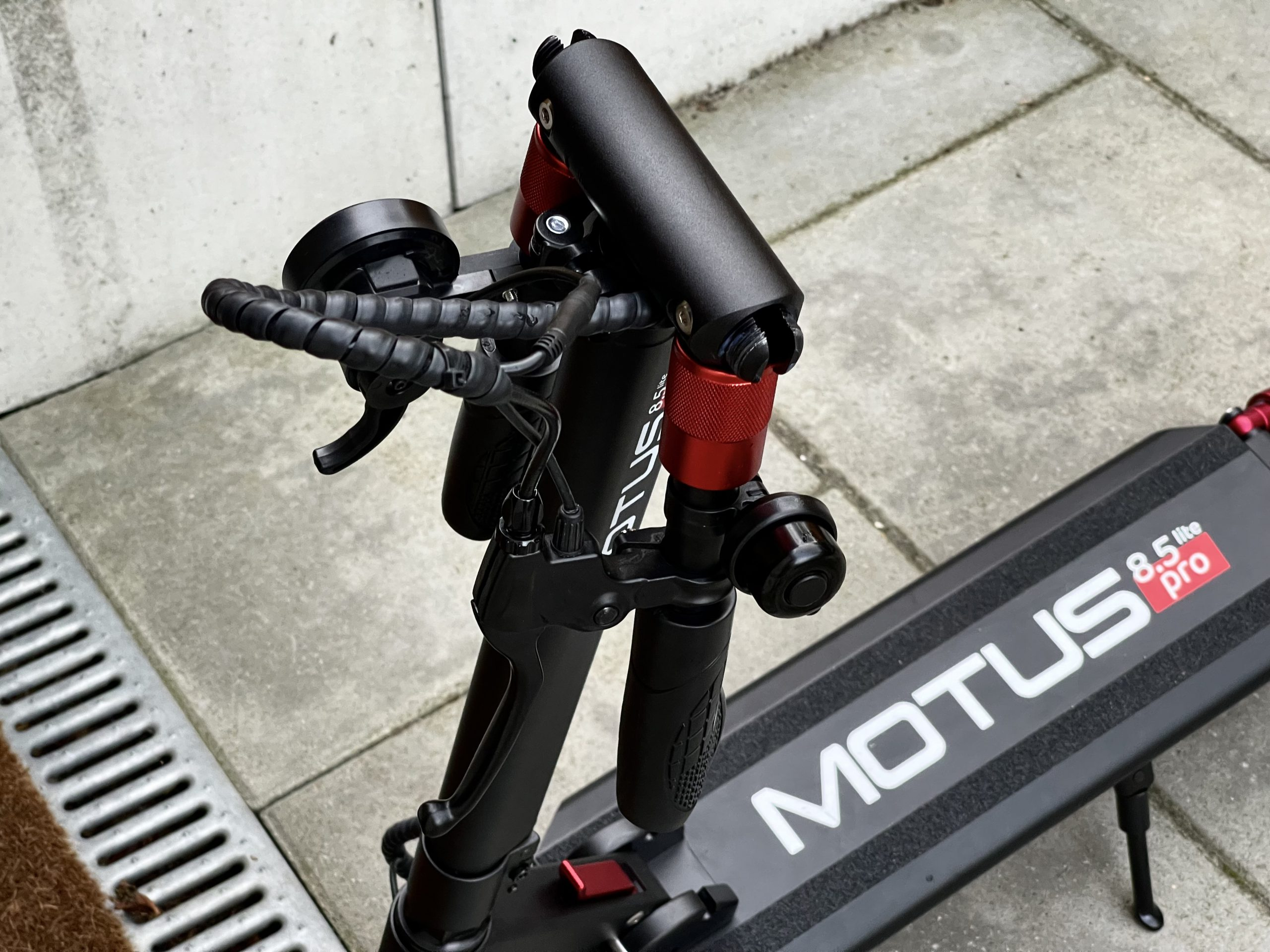 składana kierownica motus 8.5 lite